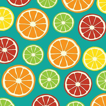 citrus pattern by bc21design