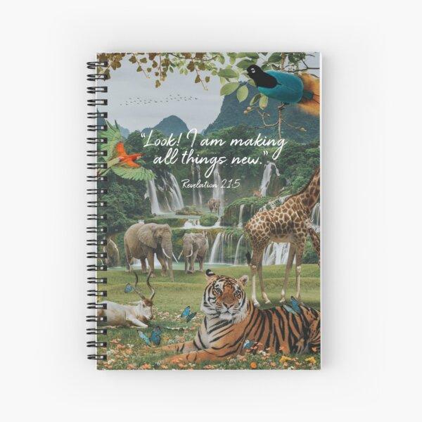 NEW WORLD Spiral Notebook