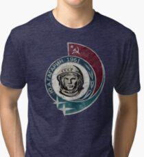 CCCP Yuri Gagarin 1961 Tri-blend T-Shirt