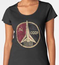 CCCP Rocket Emblem  Women's Premium T-Shirt