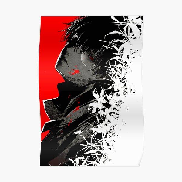 Kaneki Black Reaper Póster