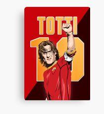 Lienzo Francesco Totti - AS Roma