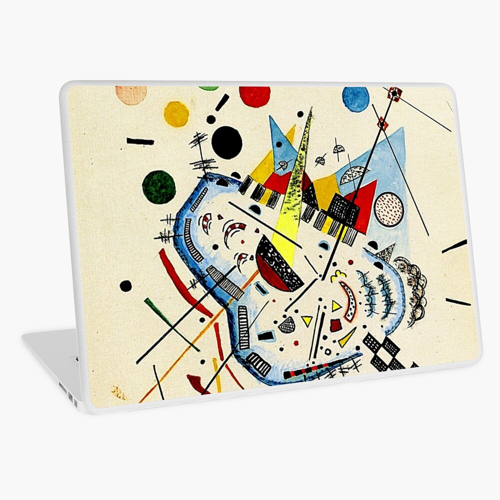 Kandinsky - Sea and Sun Laptop Skin