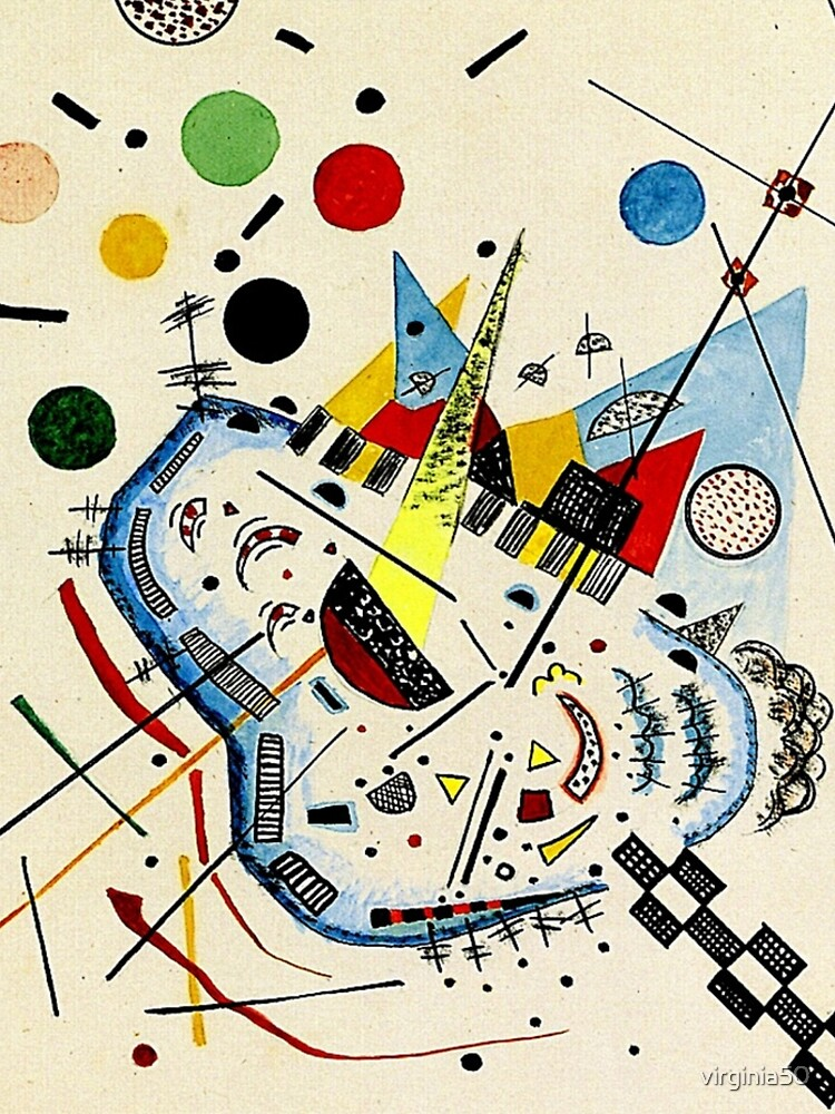 Kandinsky - Sea and Sun by virginia50