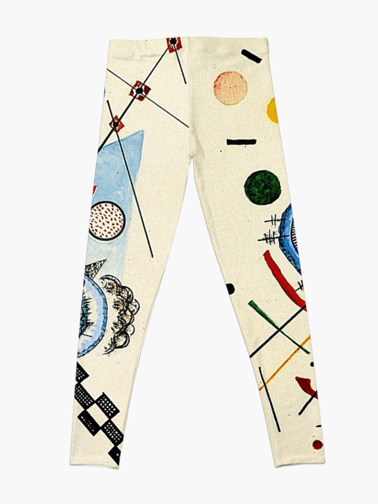 Alternate view of Kandinsky - Sea and Sun Leggings
