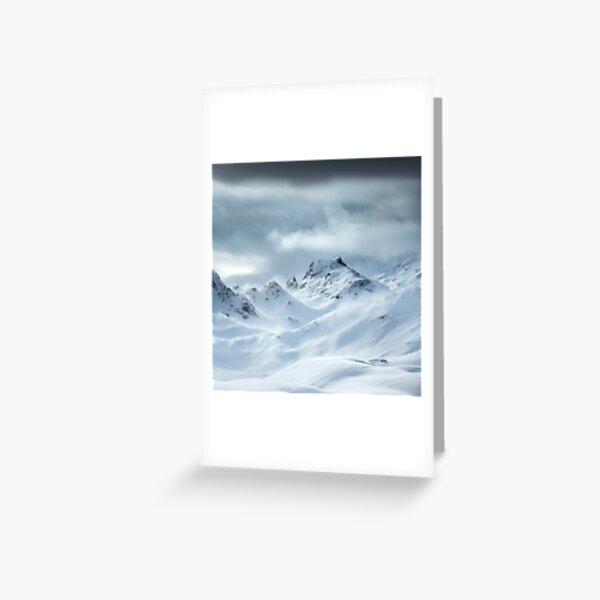 Alpes Francaises Carte de vœux