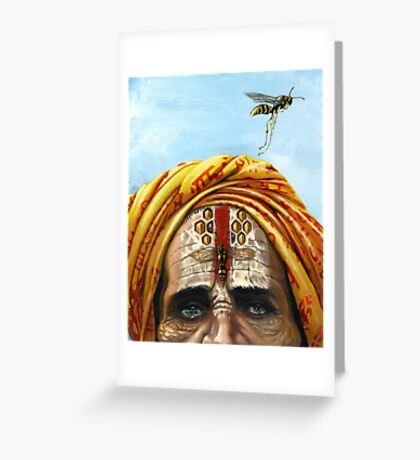 The Mad Sage Greeting Card