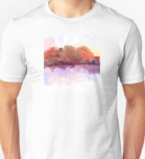 Simply Beautiful Landscape in Red T-Shirt
