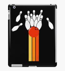Retro Vintage Bowling T-shirt For Bowler iPad Case/Skin