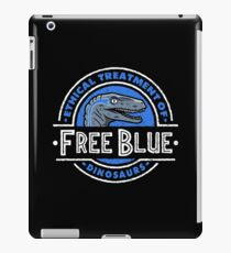 Free Blue iPad Case/Skin