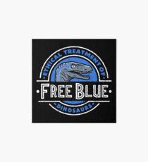 Free Blue Art Board