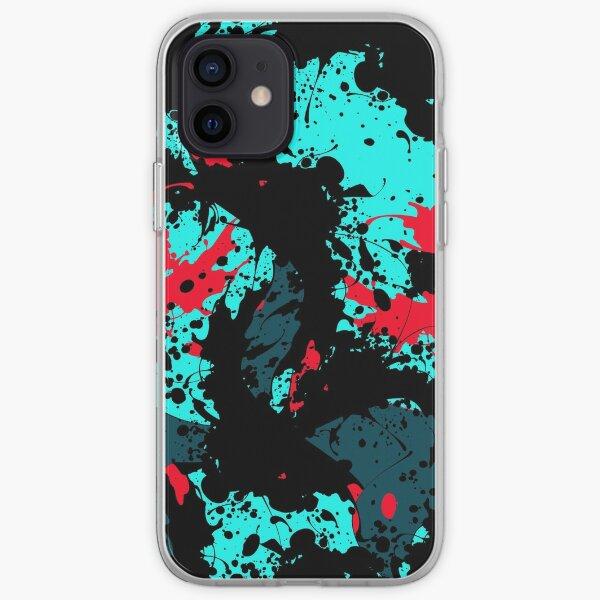 PAINT SPLATTERS iPhone Soft Case