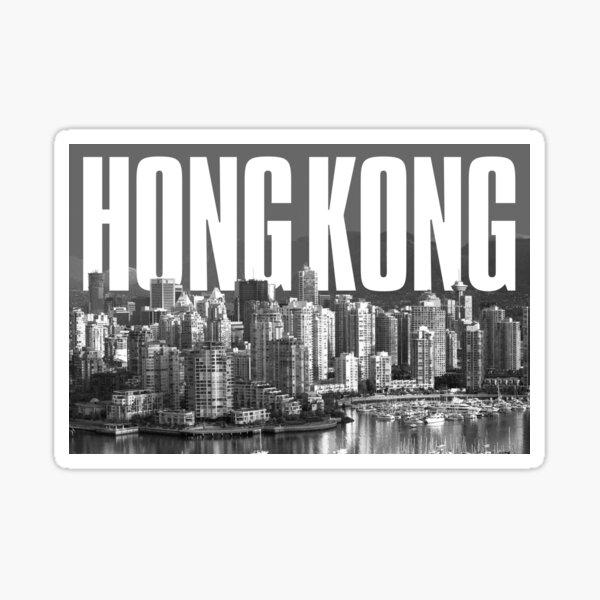 Hong Kong Cityscape Sticker
