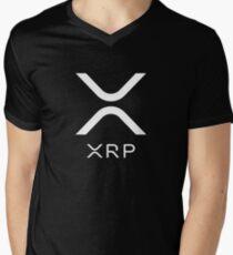 Camiseta de cuello en V XRP - Nuevo logotipo