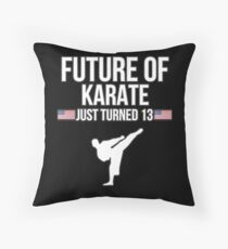 Future Of Karate Just Turned 13 For 13th Birthdays - Gift for 13 Year old Karate players Bodenkissen