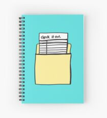 Check it Out Spiral Notebook