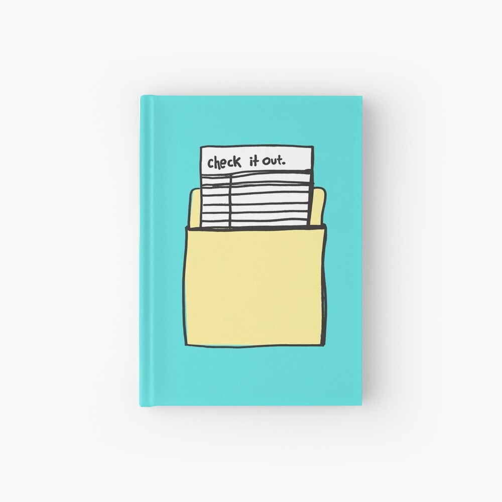 Check it Out Hardcover Journal