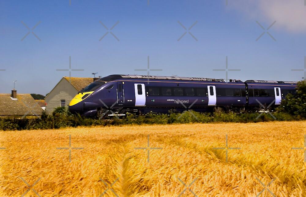 High Speed Train by Geoff Carpenter