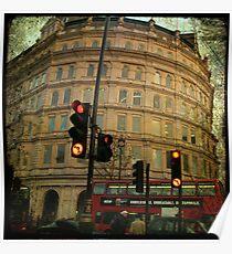 london Trafalgar square Poster