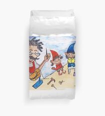 The shoemaker and the elves Duvet Cover