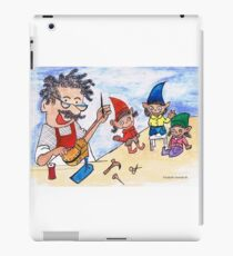 The shoemaker and the elves iPad Case/Skin