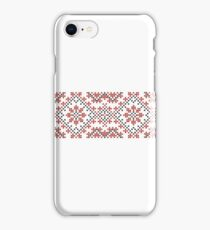 Ukrainian national ornaments iPhone Case/Skin