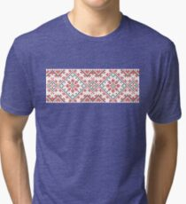 Ukrainian national ornaments Tri-blend T-Shirt