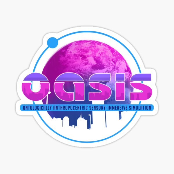 Oasis (Ready Player One) Sticker
