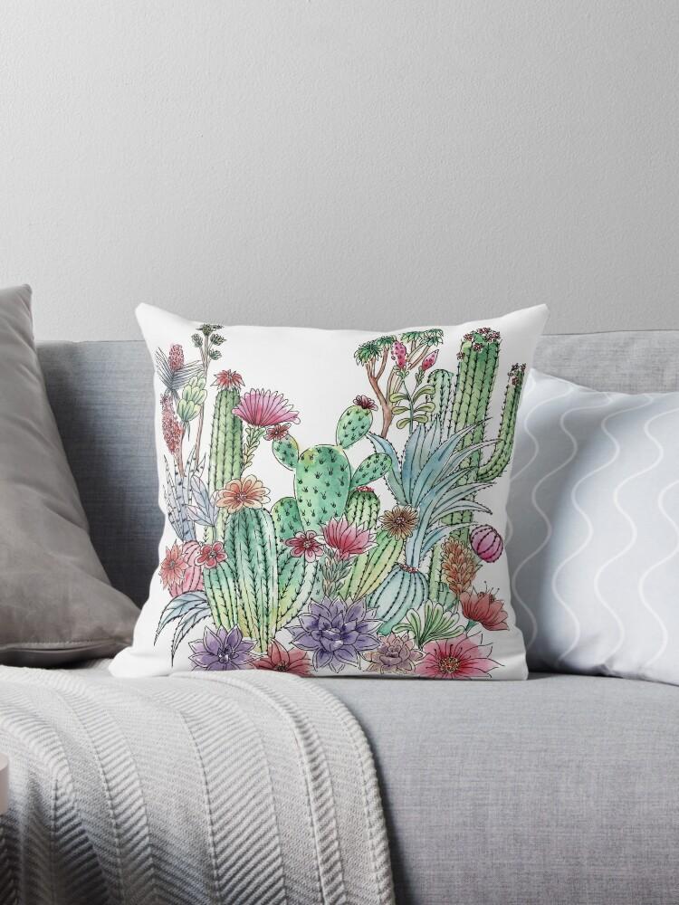 Cactus garden by juliagrifol
