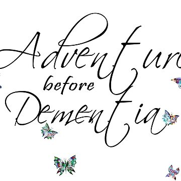 Adventure before Dementia Musical Butterfly Art by ckeenart