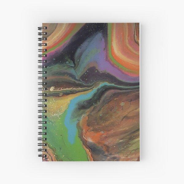 Neon Spiral Spiral Notebook
