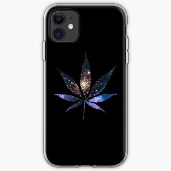 Galaxy Cannabis iPhone Soft Case