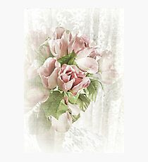 A Touch of Pink Photographic Print