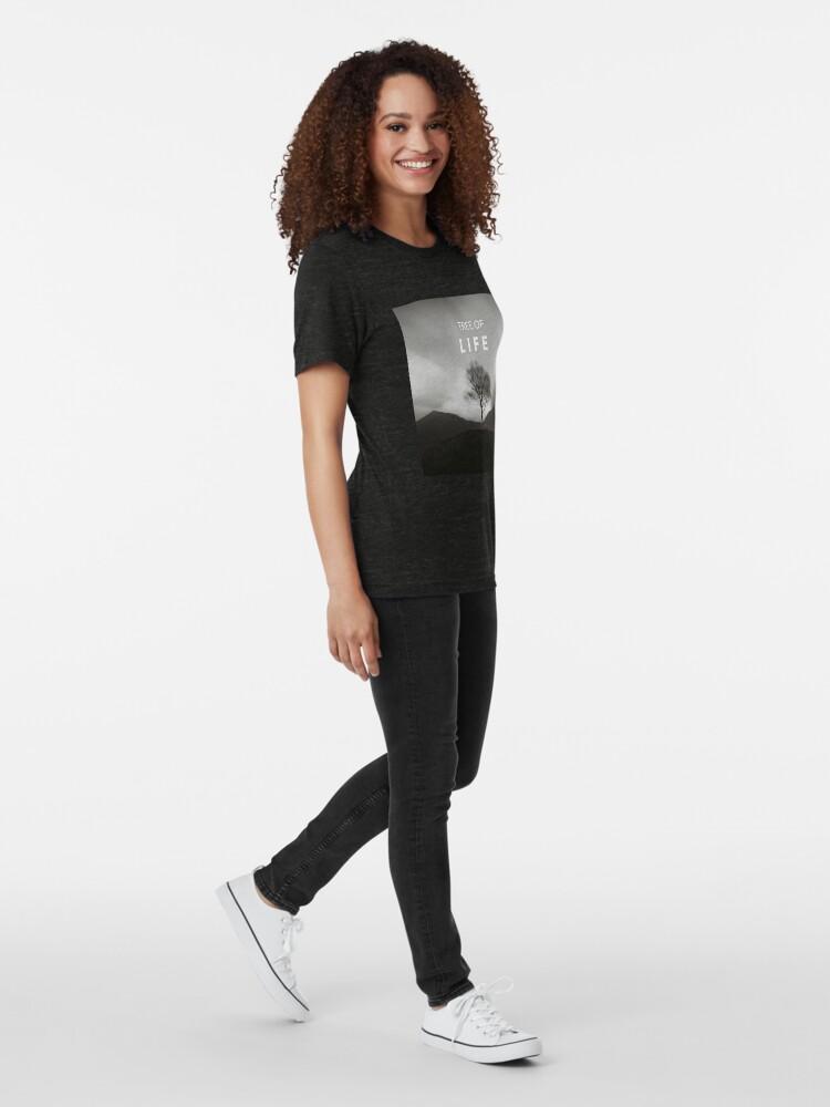 T-shirt chiné ''Arbre de la vie': autre vue
