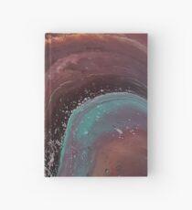 Agate Waterfall Hardcover Journal