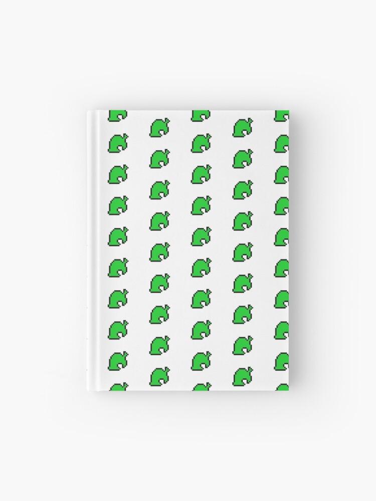 Carnet Cartonne Animal Croisement Feuille Pixel Art Par Gothmoth Redbubble