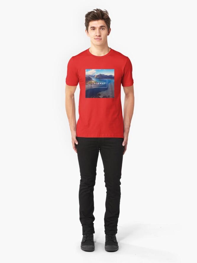 T-shirt ajusté ''Norway': autre vue