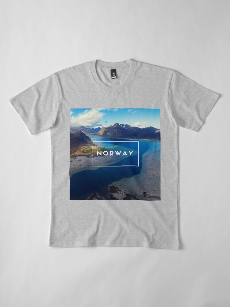 T-shirt premium ''Norway': autre vue