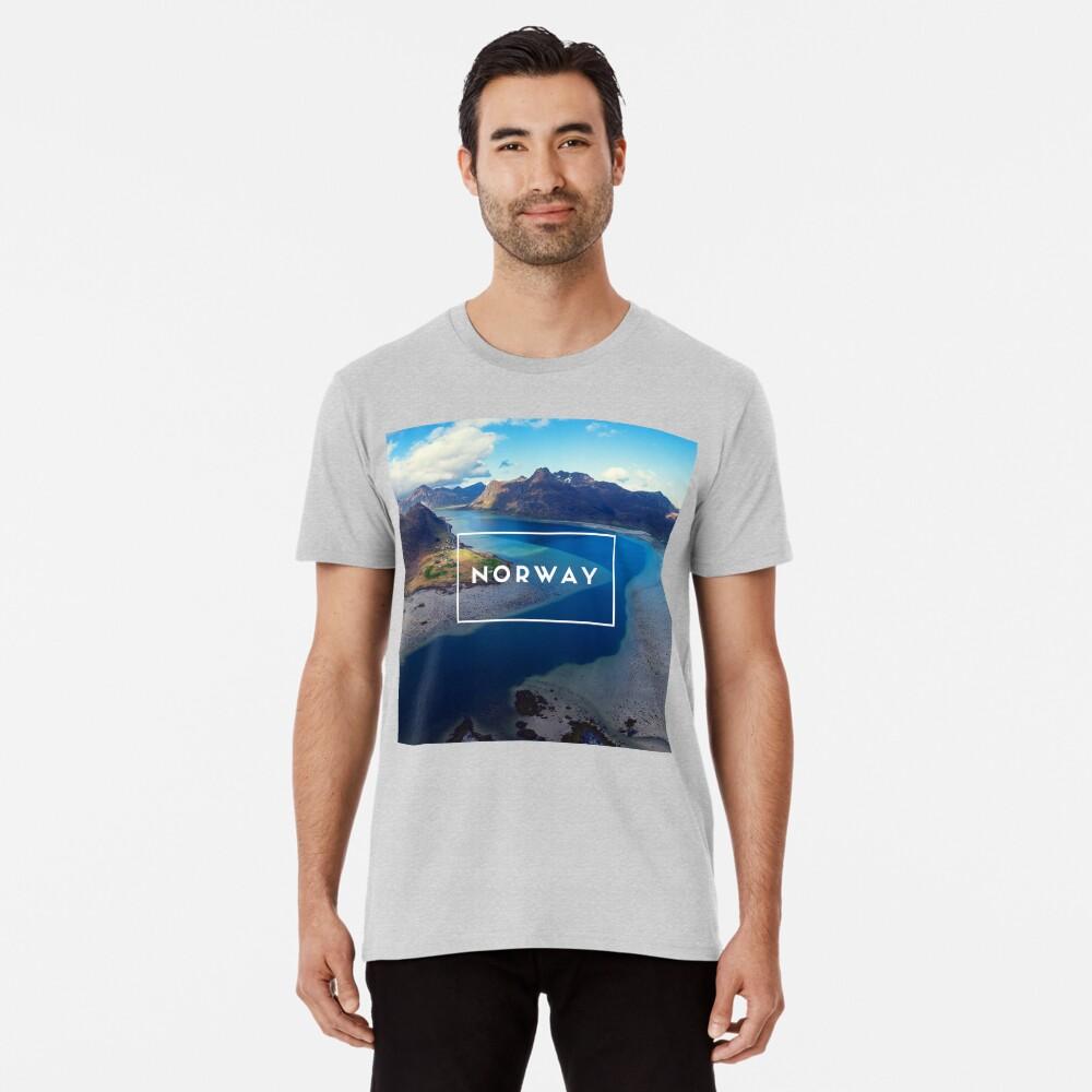T-shirt premium «Norway»