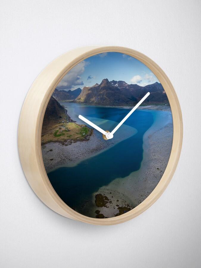 Horloge ''Norway': autre vue