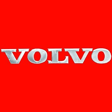 Old Volvo Emblem - Standard and Travel Mug (Red) by mattiollikainen