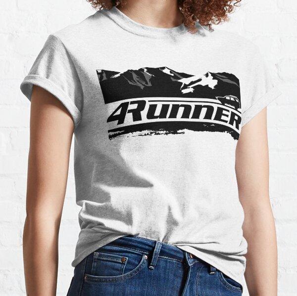 4Runner - Mountains + Vehicle 4th Gen Classic T-Shirt