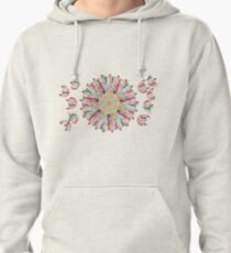 70 Organic Circle Seeds Off Like Dandal Lion at Green Bee Mee Pullover Hoodie