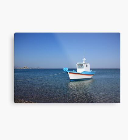 At Kefalos Beach Metal Print