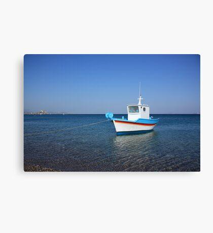 At Kefalos Beach Canvas Print