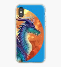 Wings of Fire - Blue iPhone Case
