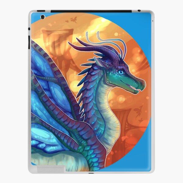 Wings of Fire - Blue iPad Skin
