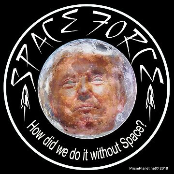 Trump Space Force by ayemagine