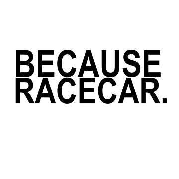 Because racecar tuner by antemann87