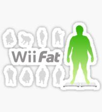 Wii Fat Sticker